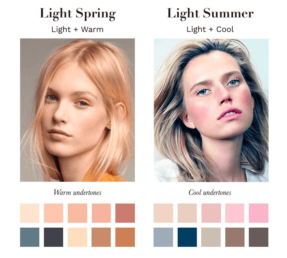 Light Spring vs Light Summer