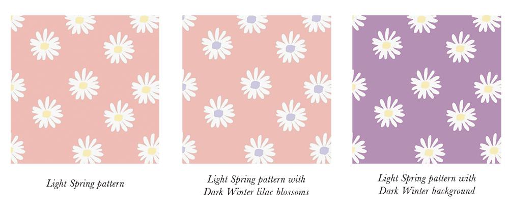Light Spring Patterns & Prints