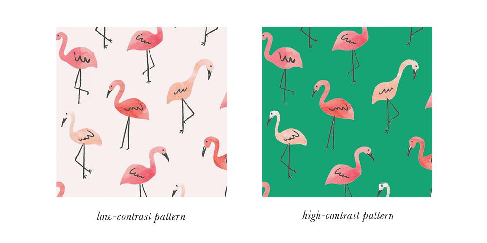 Light Spring Patterns & Prints Contrast