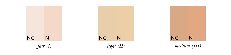 Light Summer Skin