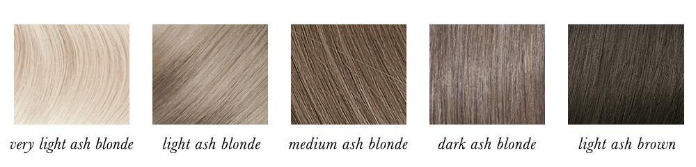 Light Summer Hair Colours