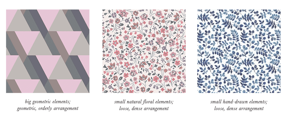 Light Summer Patterns & Prints Elements