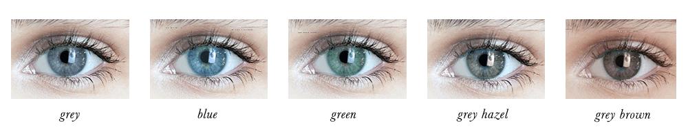 True Summer Eye Colours
