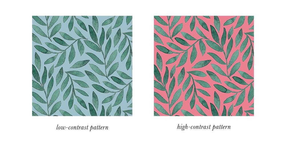 Soft Summer Patterns & Prints Contrast
