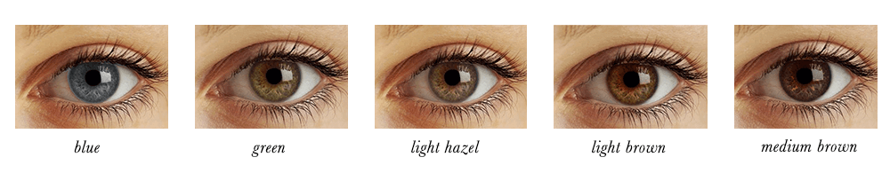 Soft Autumn Eye Colours