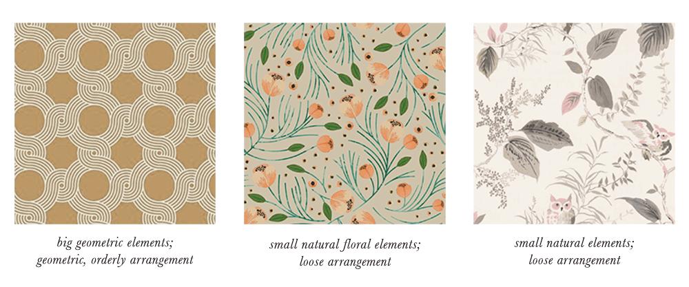 Soft Autumn Patterns & Prints Elements