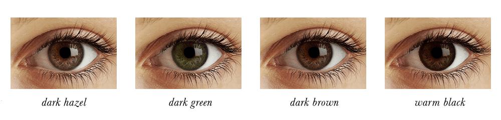 Dark Autumn Eye Colours