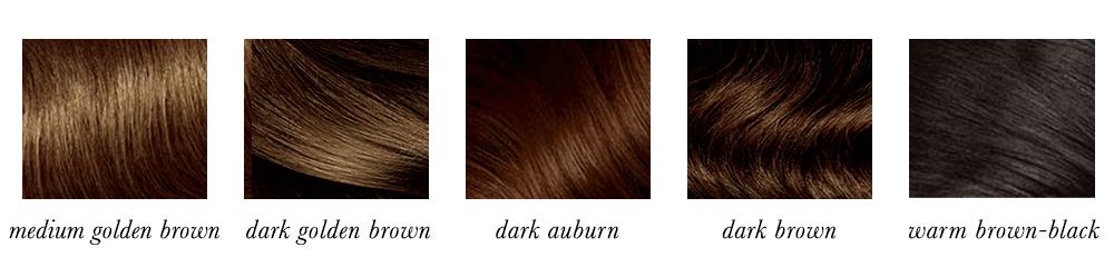 Dark Autumn Hair Colours
