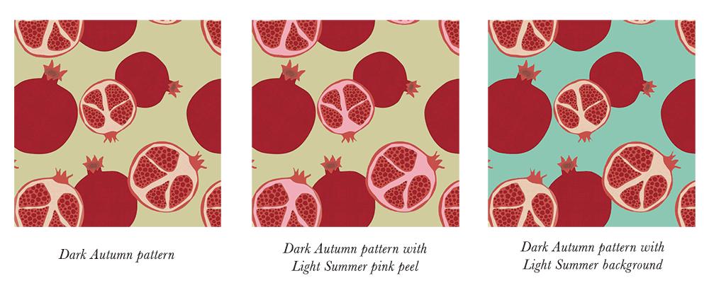 Dark Autumn Patterns & Prints