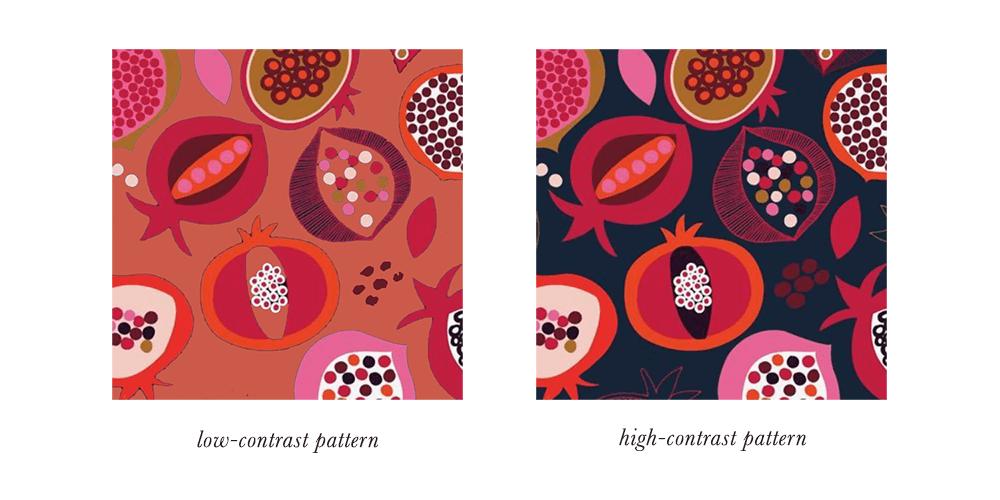 Dark Autumn Patterns & Prints Contrast