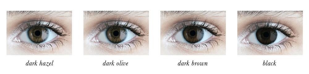 Dark Winter Eye Colours