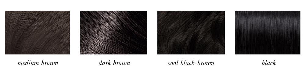 Dark Winter Hair Colours