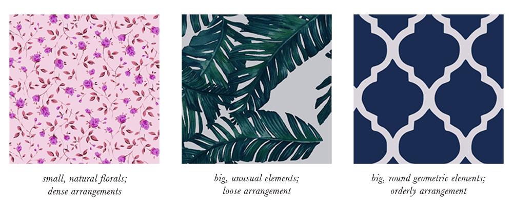 Dark Winter Patterns & Prints Elements