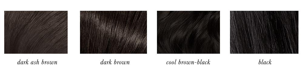 True Winter Hair Colours