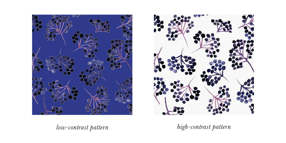 True Winter Patterns & Prints Contrast
