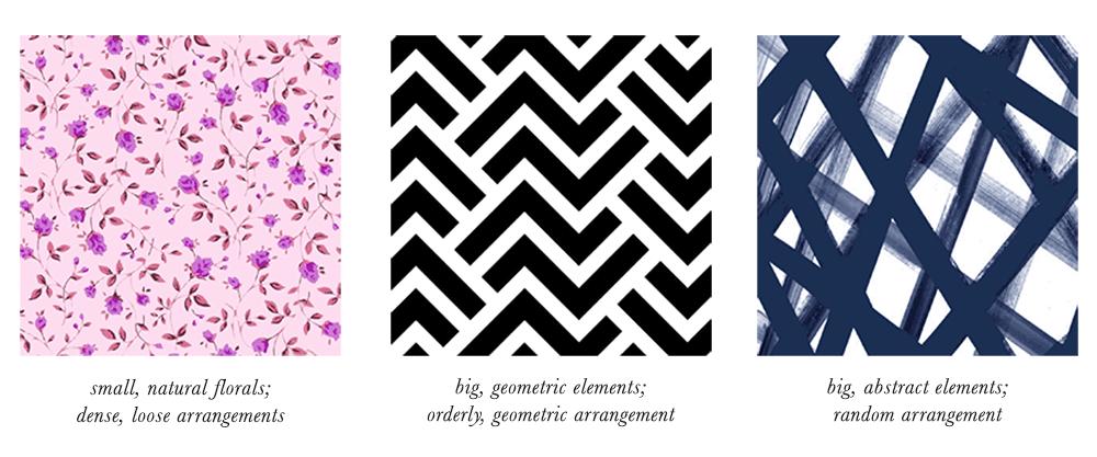 True Winter Patterns & Prints Elements