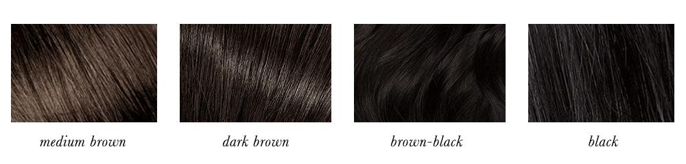 Bright Winter Hair Colours