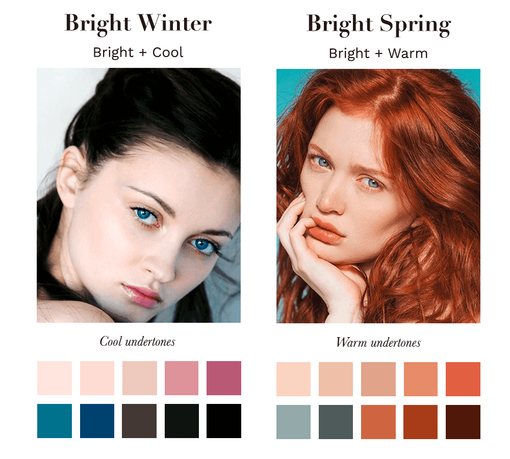 Bright Winter vs Bright Spring