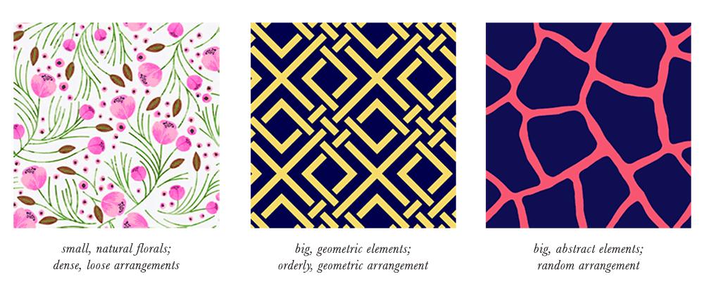 Bright Winter Patterns & Prints Elements