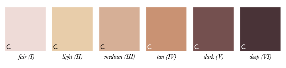 Colour Analysis - Skin With Cool Undertones