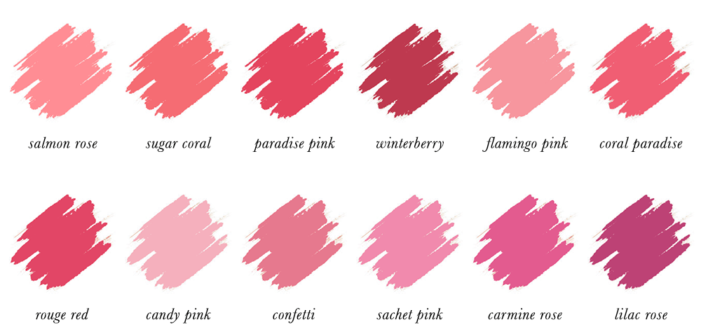 Colour Analysis for People of Colour - Light Summer Lipstick Colours