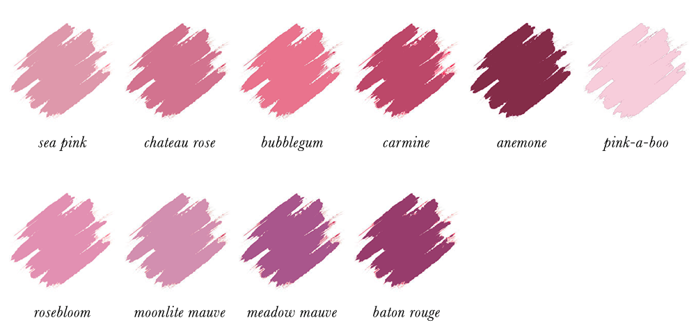 Colour Analysis for People of Colour - True Summer Lipstick Colours