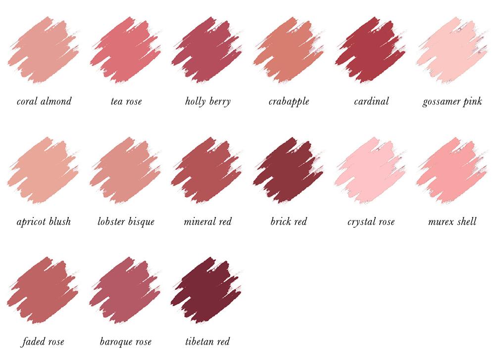 Colour Analysis for People of Colour - Soft Autumn Lipstick Colours