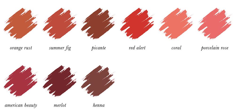 Colour Analysis for People of Colour - True Autumn Lipstick Colours