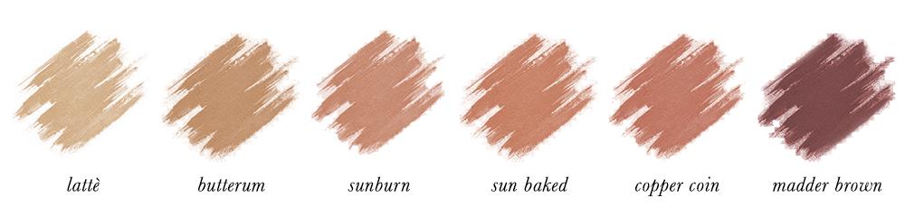 Dark Autumn Make-up - Bronzers