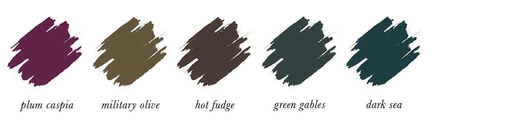 Dark Autumn Make-up - Eyeliners