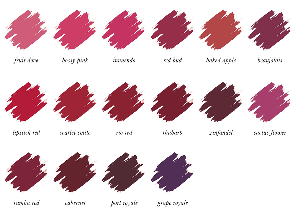 Colour Analysis for People of Colour - Dark Winter Lipstick Colours