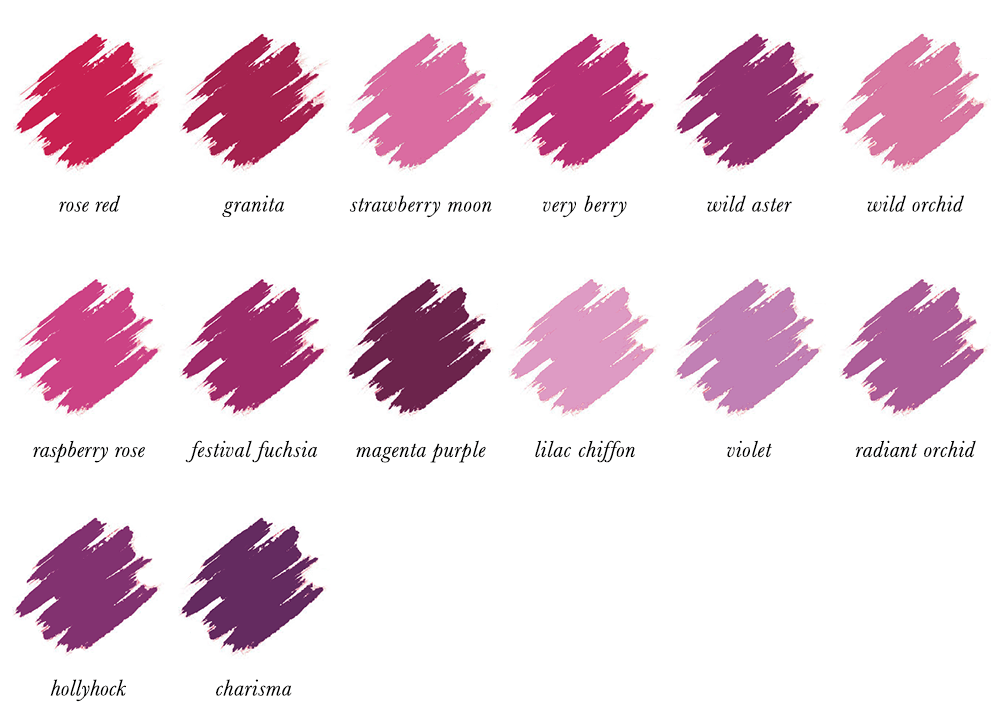 Colour Analysis for People of Colour - True Winter Lipstick Colours