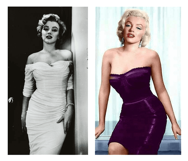 Style Essences Example - Marilyn Monroe Romantic