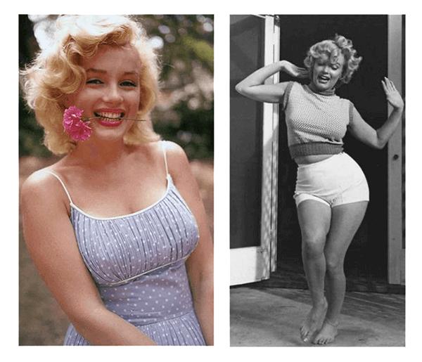 Style Essences Example - Marilyn Monroe Ingenue