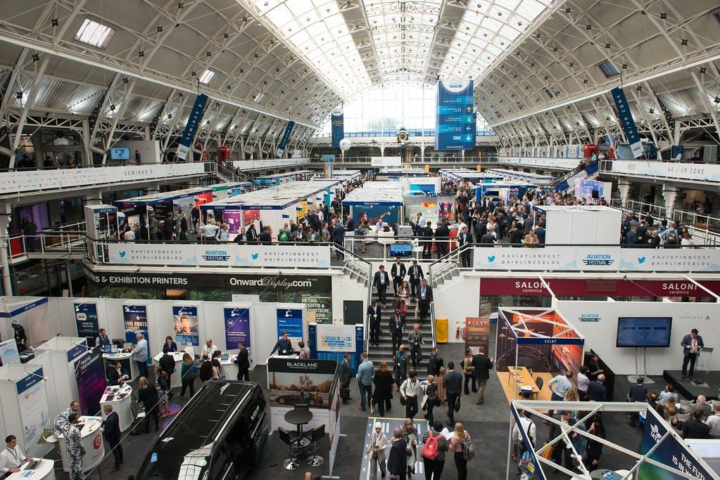 World Aviation Festival Exhibitors Hall