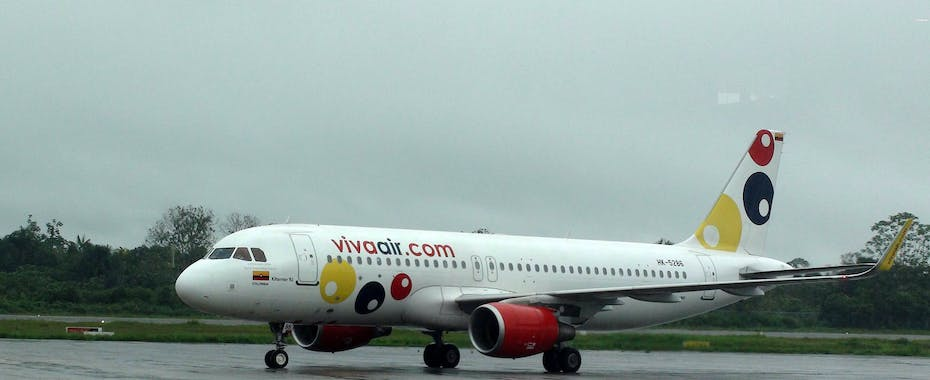Vivaair plane on tarmac
