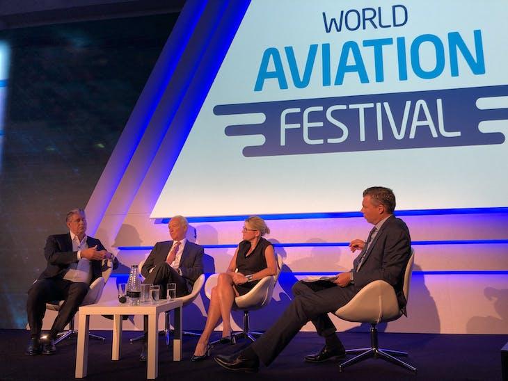World Aviation Festival panel