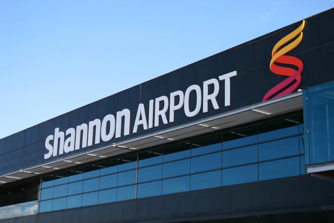 shannon airport facade