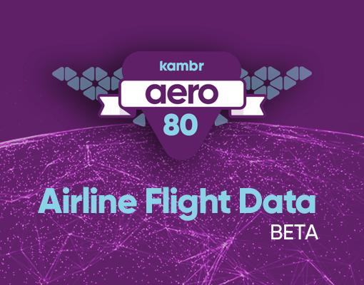 Kambr Aero 80 Airline Flight Data Beta