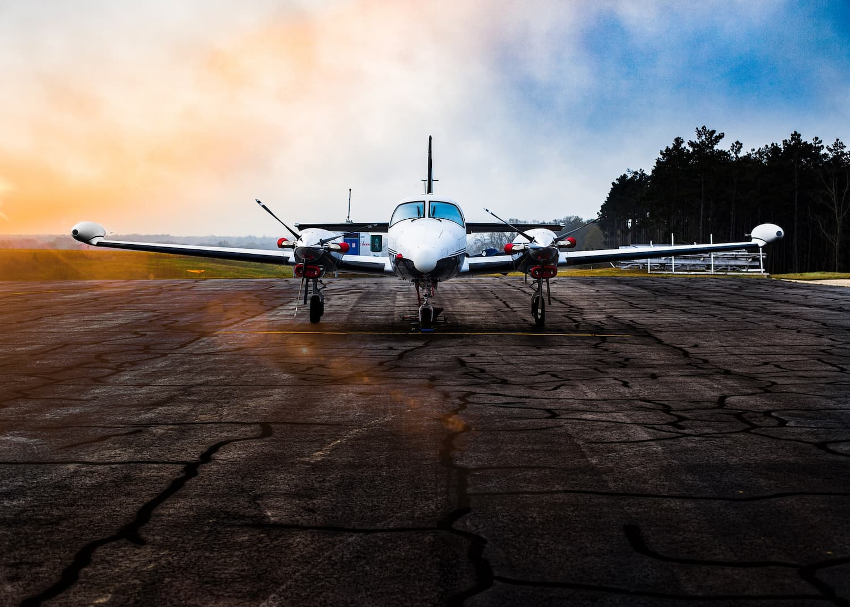 The small aircraft transportation model.