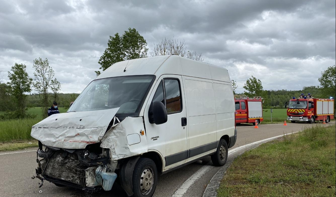 Accident de la circulation RN67 Eurville