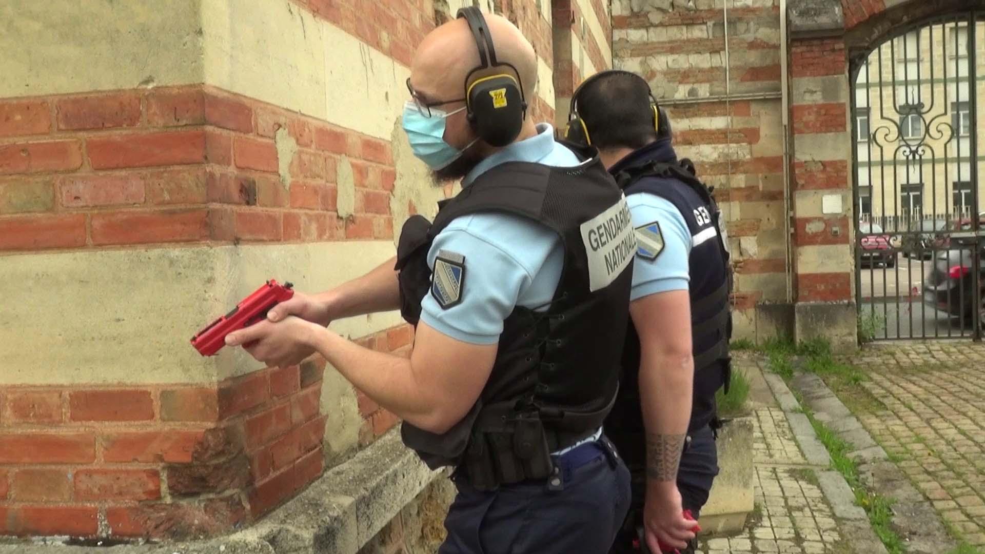 Les gendarmes de Vitry-le-François formés aux attaques terroristes