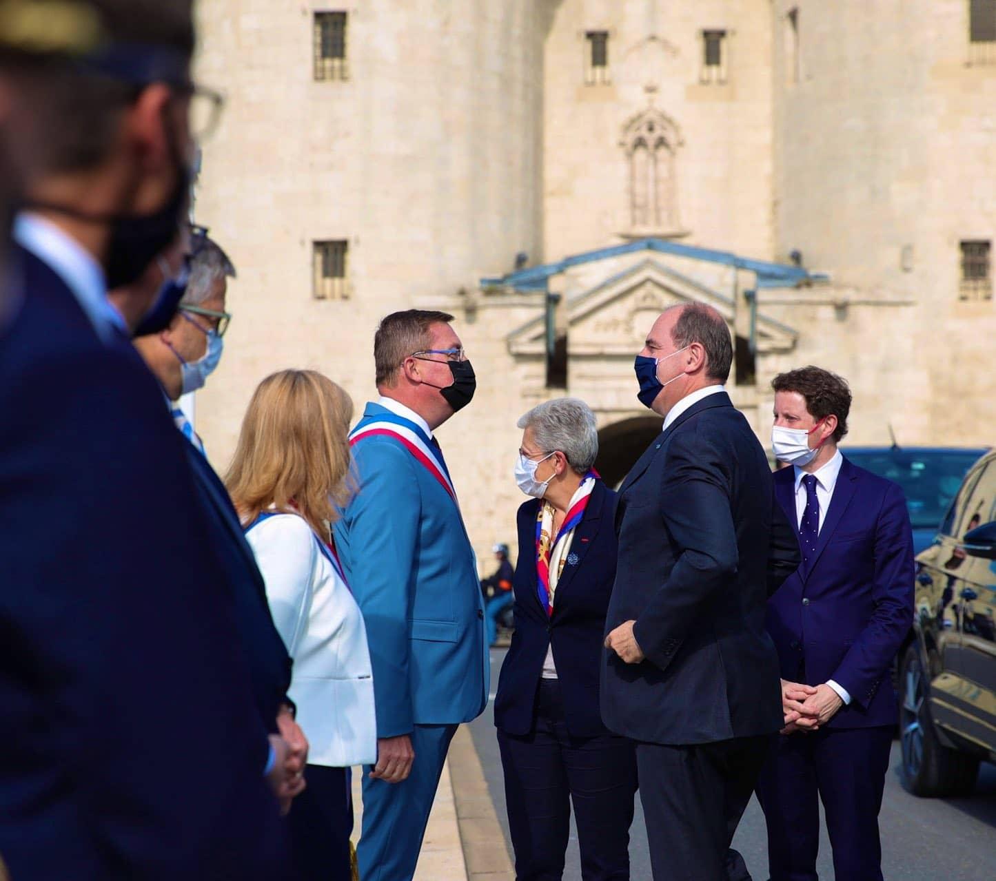 Jean Castex présent dans le département de la Meuse à Verdun