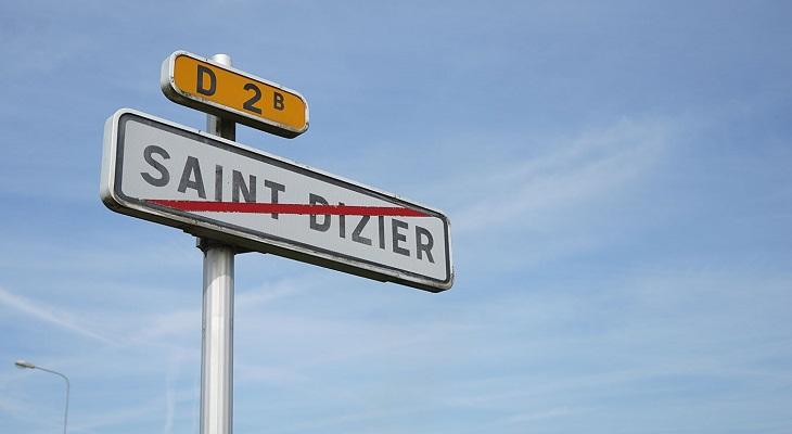 Sortie de Saint-Dizier direction Troyes