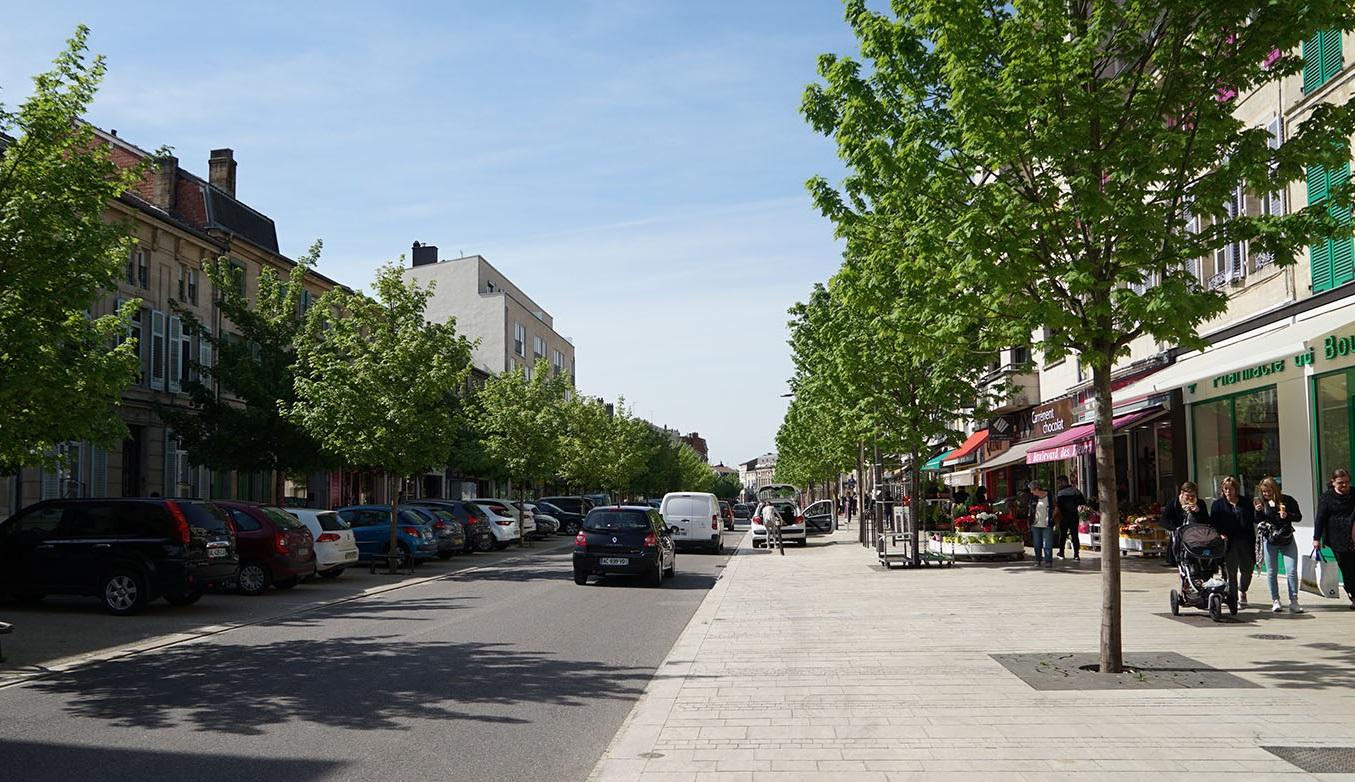 Boulevard de la Rochelle, Bar-le-Duc Meuse