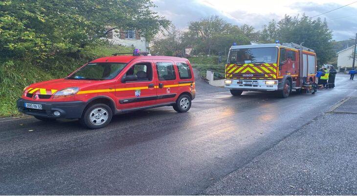 intervention de pompiers à ligny en barrois
