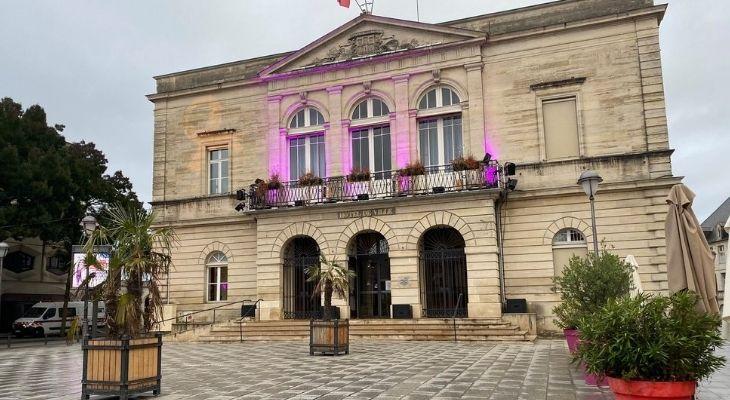 mairie de saint-dizier en rose