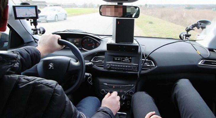 Conducteurs d'une voiture-radar