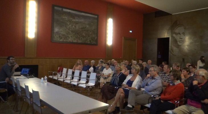 Image d'archive d'une conférence, en 2019