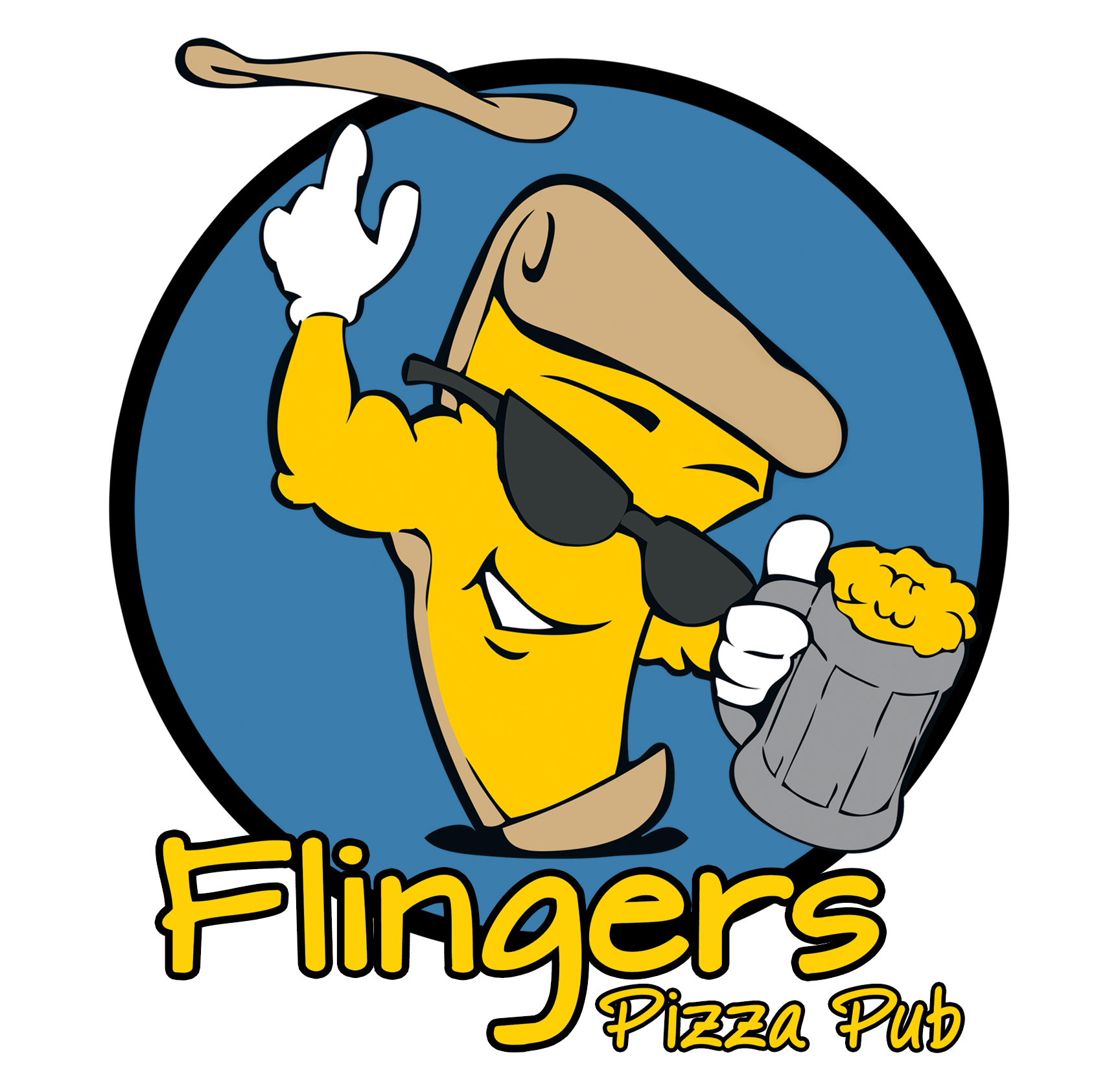 flingers pizza pub main logo
